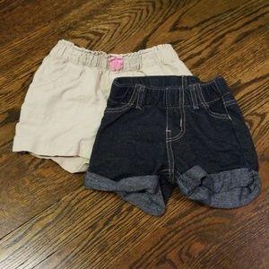 2 pack circo shorts